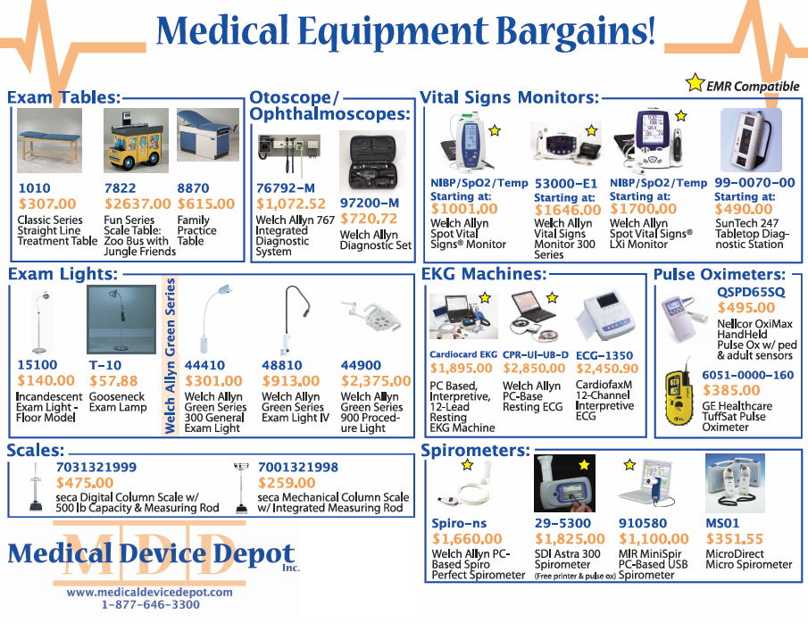 Medical Equipment Bargains